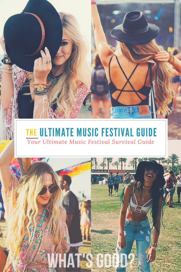 7f0e7de5413 We ve put together the ultimate summer music festival guide so that you can  party hard. Including top tips