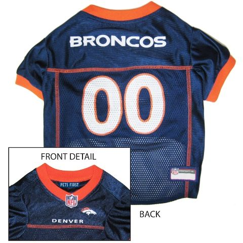 75af0492cf5 Denver Broncos NFL Football ULTRA Pet Jersey features authentic mesh knit  jersey material. Make sure