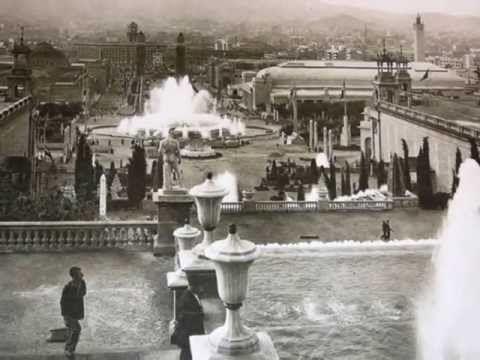 MONTJUIC Exposición Universal 1929-2010 - YouTube