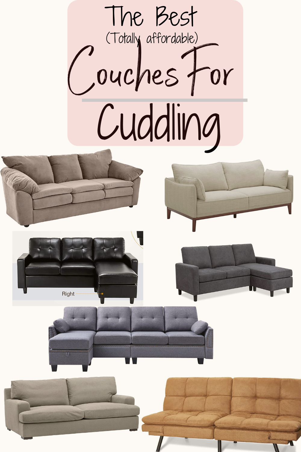 8 Best Couches For Cuddling In 2021 Buying Guide Swankyden Affordable Couch Cool Couches Couch