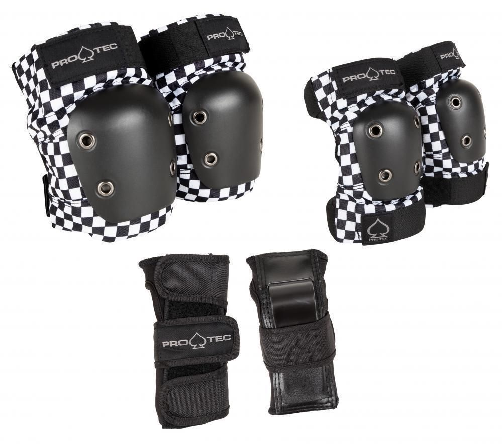 Pro-Tec Black Checker Elbow Pads M