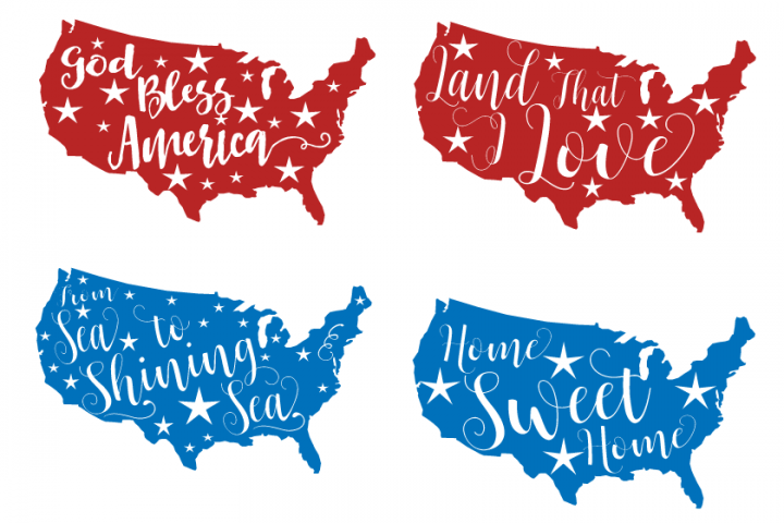 Download 4th of July svg From sea to shining sea Land that I love ...
