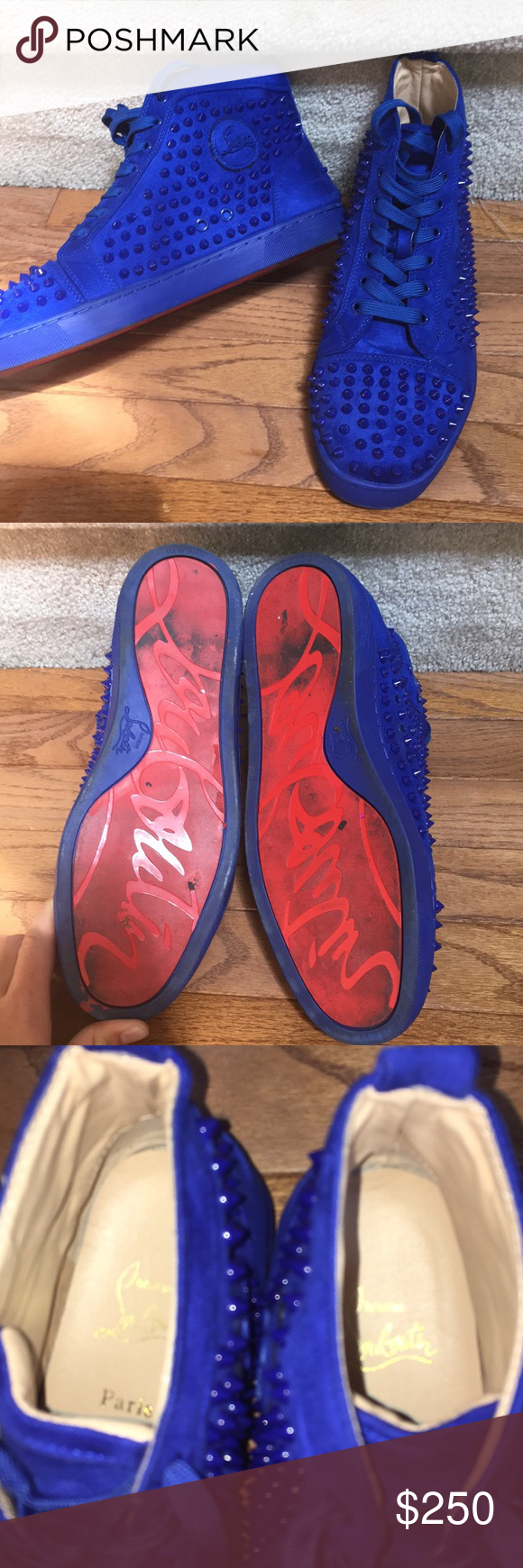 blue red bottoms