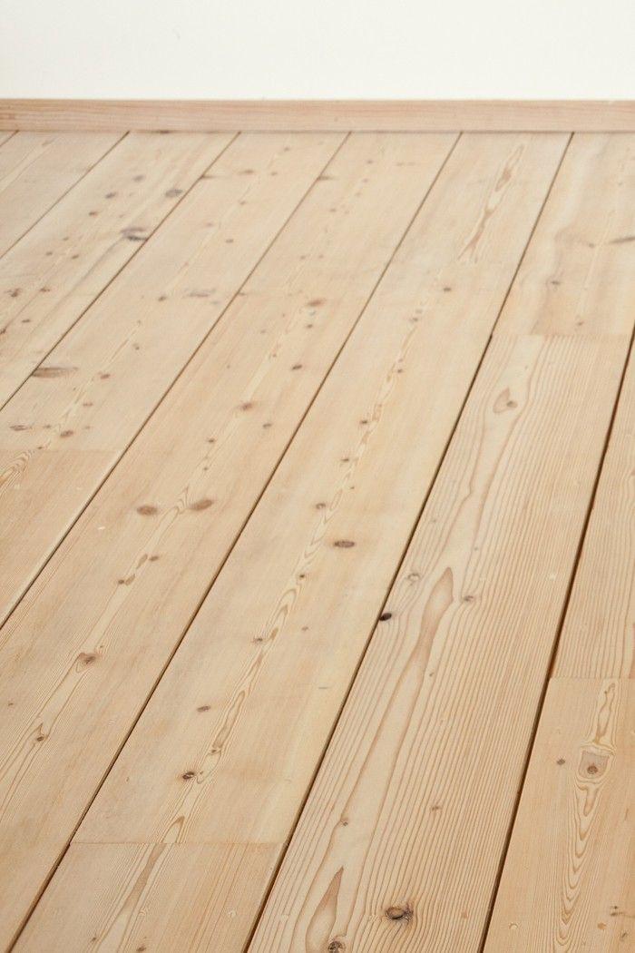 Remodeling 101 Easy Whitewashed Scandi Floors Remodelista Pine Wood Flooring Douglas Fir Flooring House Flooring