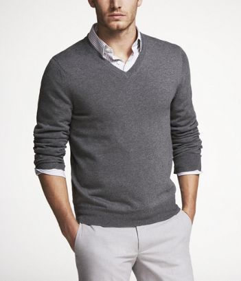 I think i want the groomsmen to wear sweaters like this with white ...