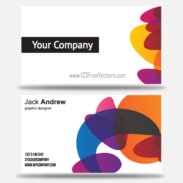 Free Colorful Business Card Templates Free Business Card Templates Download Business Card Business Card Templates Download