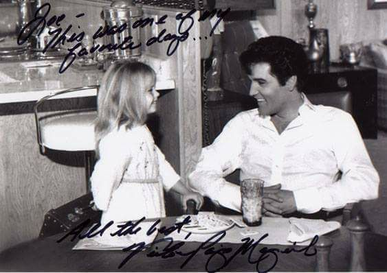 Elvis with his daughter Lisa Marie
