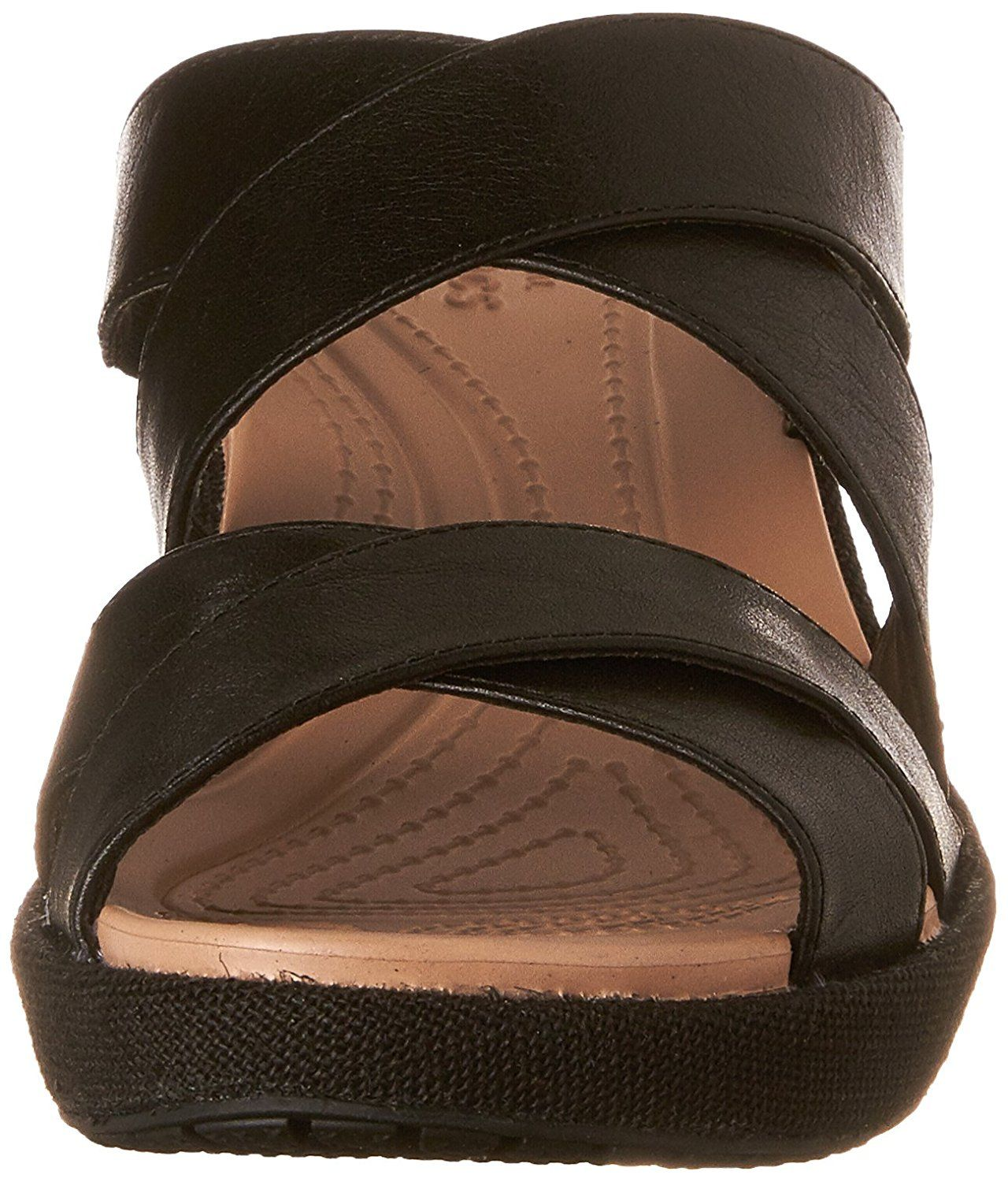 206aa7141233 crocs Women s A Leigh Crisscross W Wedge Sandal    Visit the image link  more details. (This is an affiliate link)  sandals