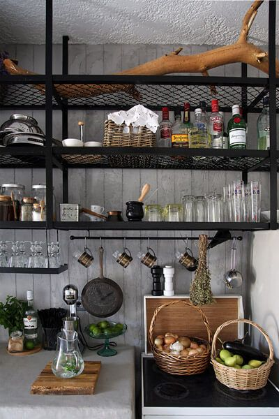 80 Ways To Decorate A Small Kitchen Shutterfly Open Kitchen Shelves Kitchen Shelf Decor Kitchen Wall Shelves