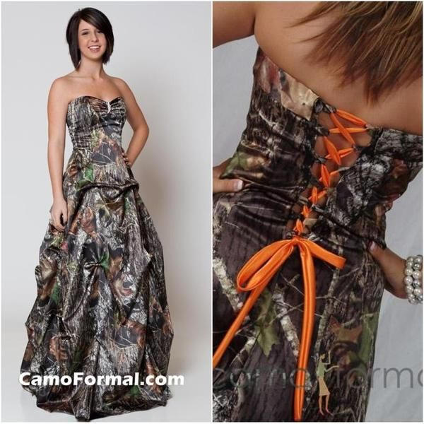 I found \'Camo Prom Dress\' on Wish, check it out! | clothing | Pinterest