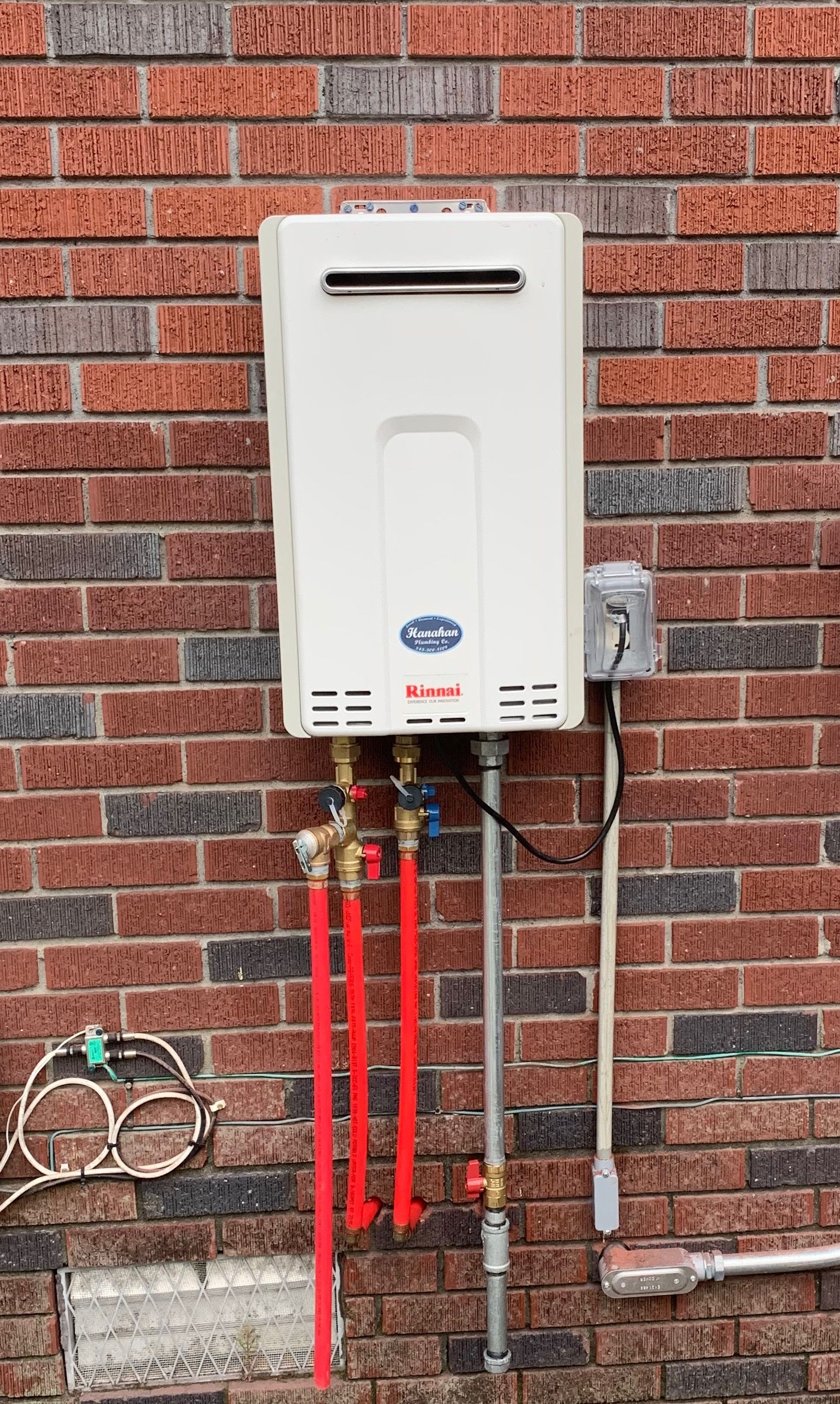 Never Run Out Of Hot Water Again By Installing A Tankless Gas Water Heater Water Heater Repair Tankless Water Heater Gas Gas Water Heater