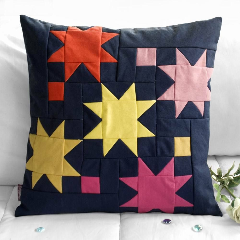 [shiny Stars] Sofa Pillow Protector Case Living Room Decor - Trivoshop