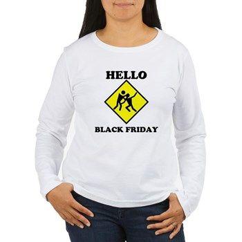Black Friday Shopping Long Sleeve T-Shirt