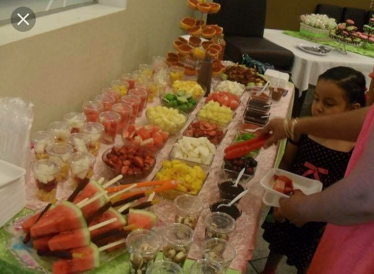 Fruit Table Mexican Snacks Mexican Party Mexican Party Theme
