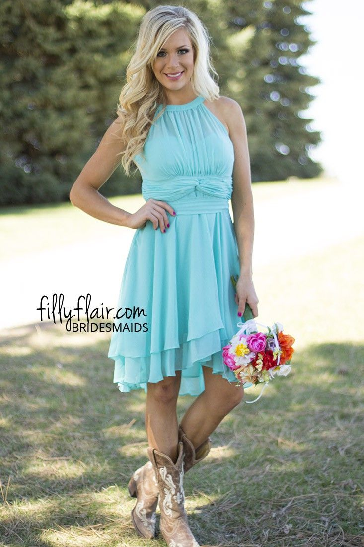 The perfect combination for your country wedding we love for Country dresses for wedding guest