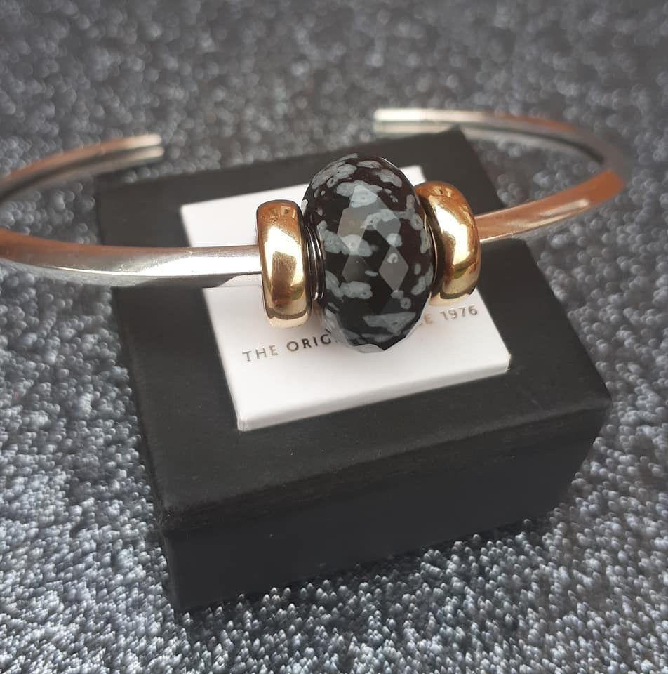 anello pandora fiocco e perlina