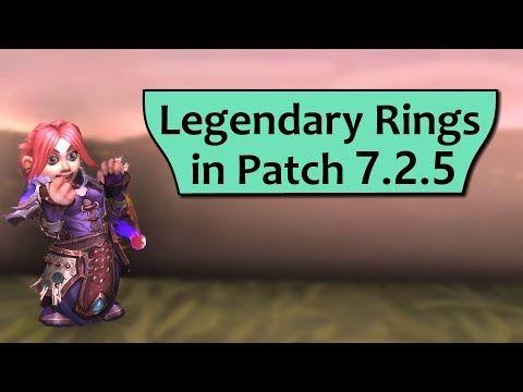 Wow Legion Legendary Rings in 7 2 5 - Soul of the Free