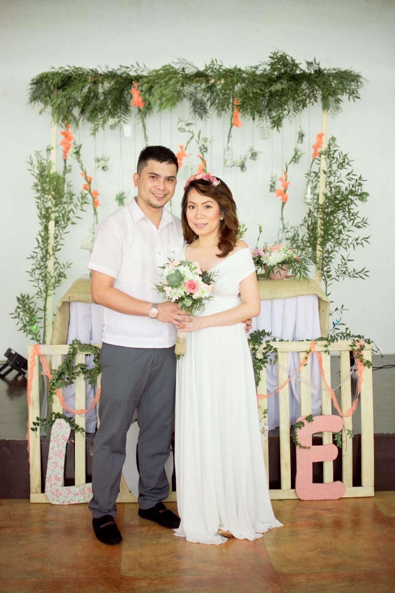rustic themed civil wedding | simple wedding | Pinterest | Simple ...