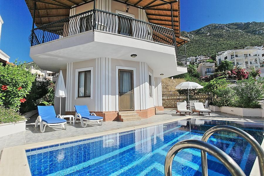 Villa Ela Kalkan, Turkey Sleeps 4 To 7 People Private Pool Turkey Holiday  Villa With