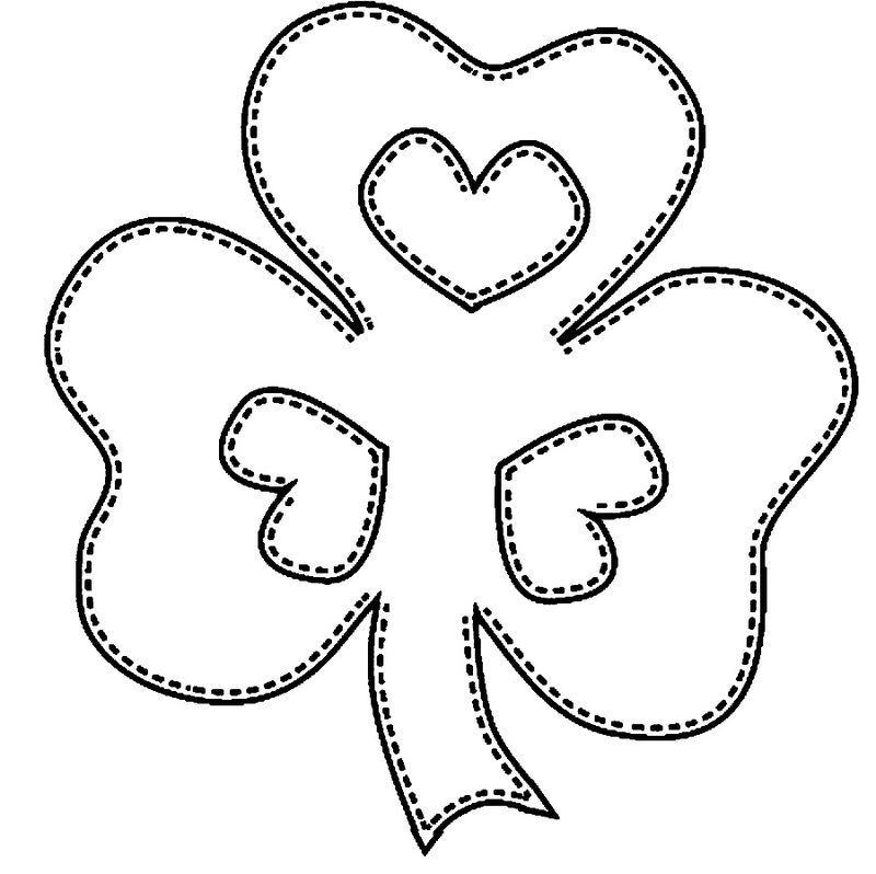 Shamrock St Patricks Day Coloring Pages Coloring pages