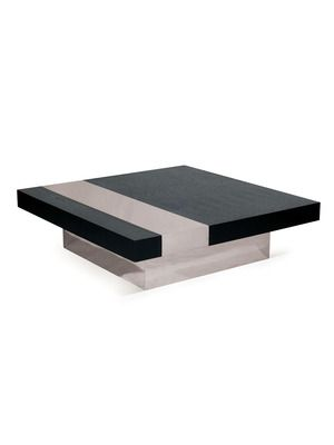 Square Wood Coffee Table by Kelly Hoppen on Gilt Home Jenksis