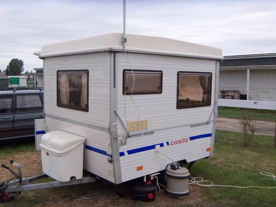 Casita folding caravan diy camper trailer vintage