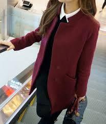 Manteau femme rouge bordeaux