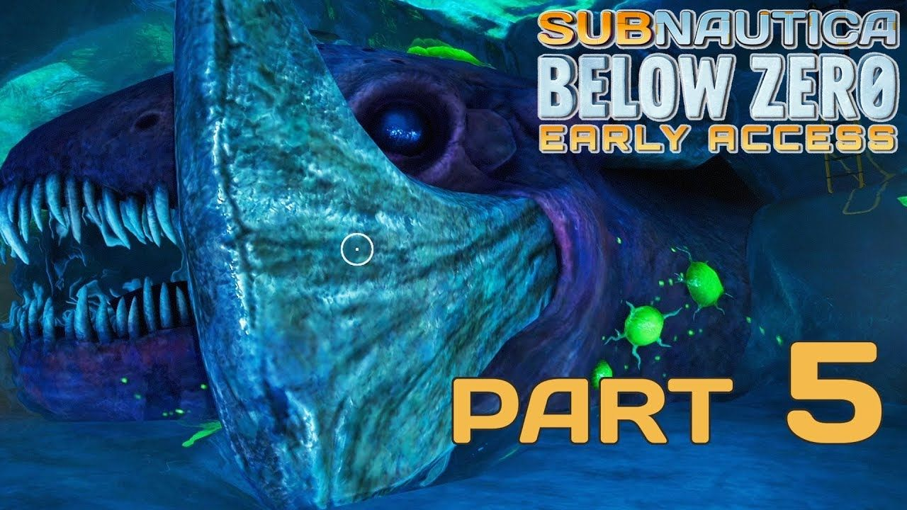 Subnautica Below Zero Part 5 Frozen Leviathan Early Access Gameplay Leviathan Gameplay Early