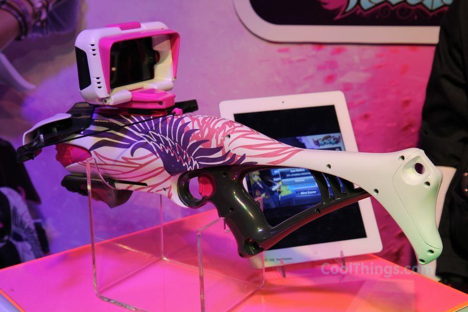nerf+guns+for+girls | Hasbro's Nerf Rebelle Blasters Bring Foam Warfare To