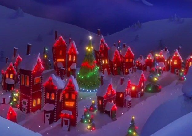 Can You Name The Disney Movie Based On The Christmas Tree Nightmare Before Christmas Christmas Scenes Wallpaper Christmas Wallpaper