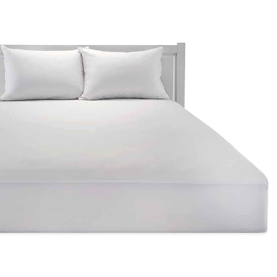 healthy nightsa cotton waterproof mattress protector with
