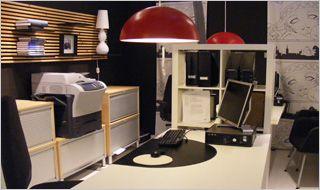 bureau verlichting in de woonkamer