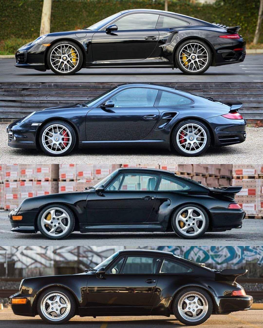 Turbo Generations Porsche Sports Car Porsche Cars Porsche 911 Turbo