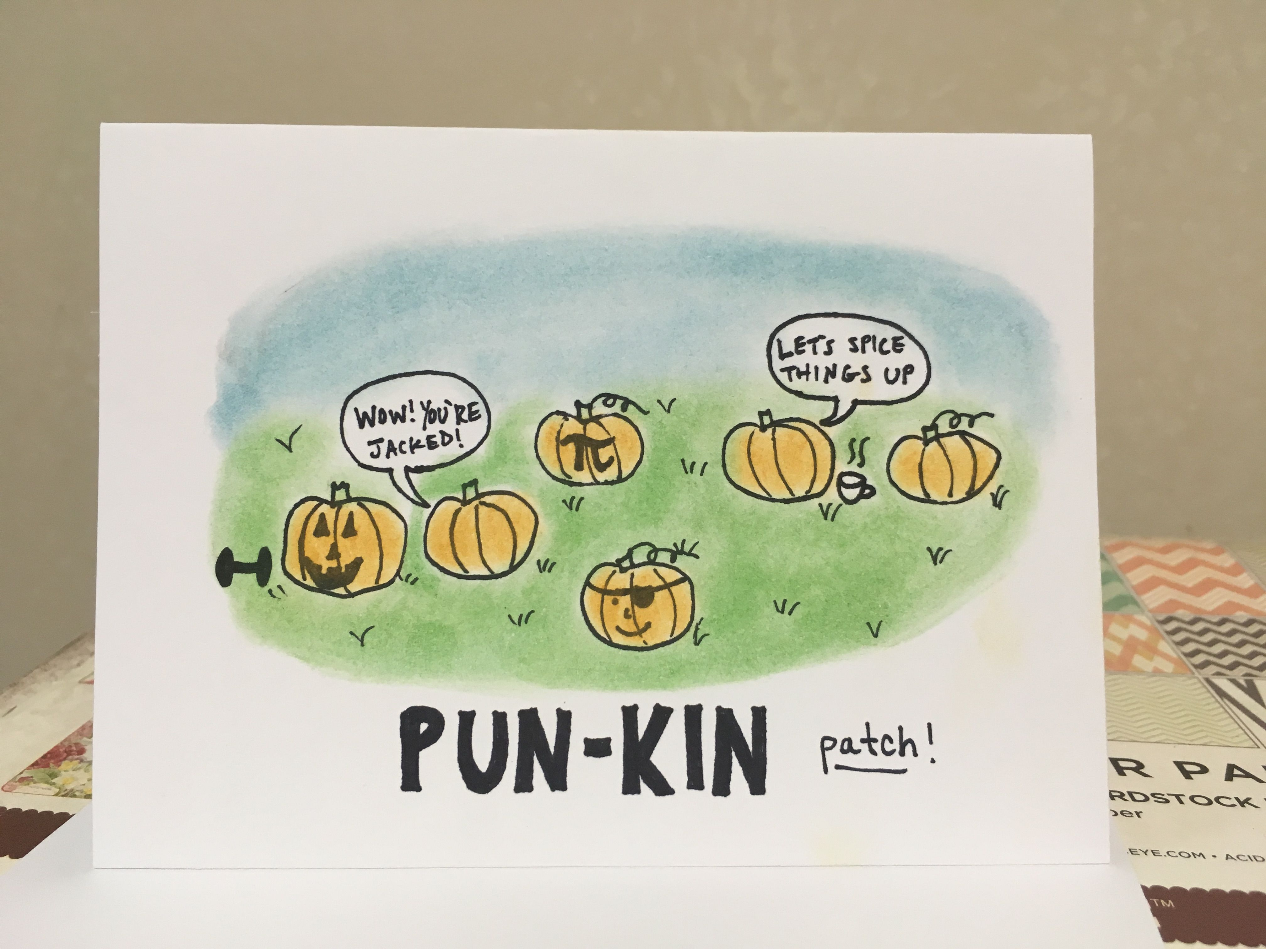 Halloween Greeting Card Puns Hallowen