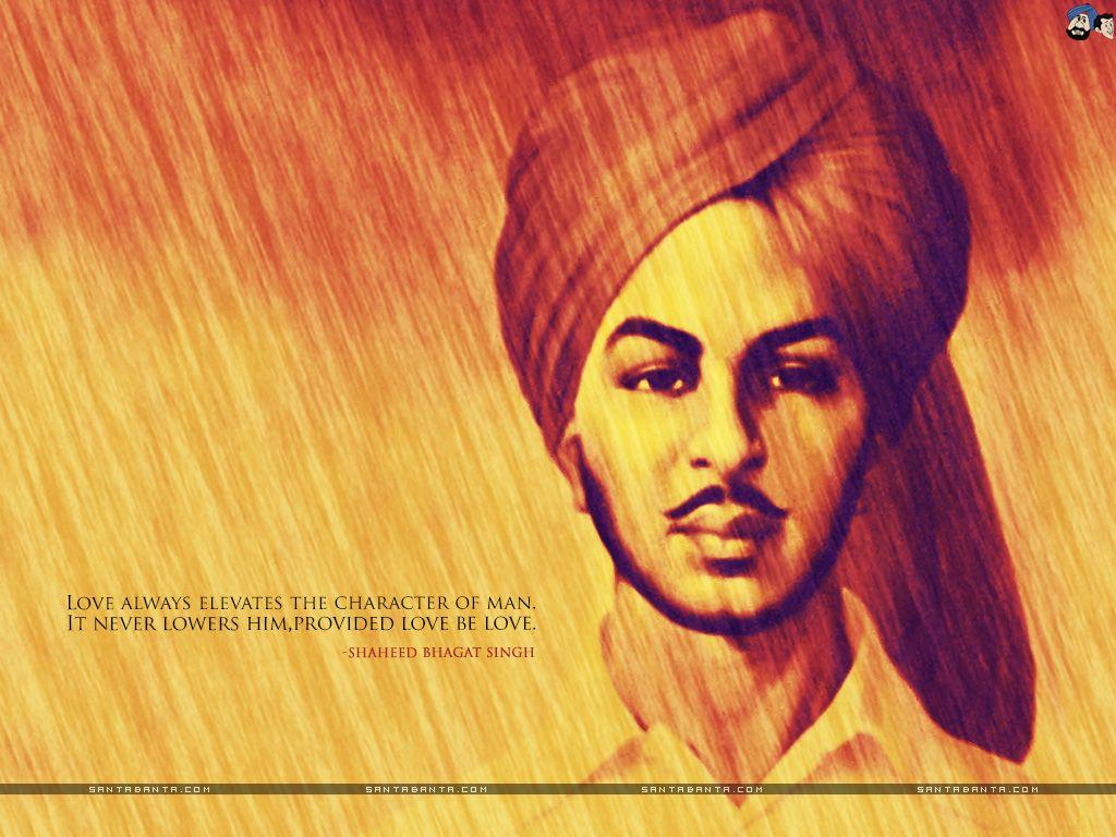 Bhagat Singh Wallpaper 5 Bhagat singh, Bhagat singh