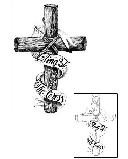 Religious Tattoos HAF-00043 Created by Harry Aron