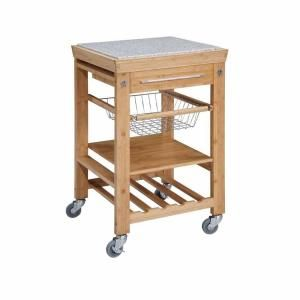 Home Decorators Collection 22 Sq In Bamboo Kitchen Island Cart 44031bmb 01 Kd U At The Home Depot Kitchen Tops Granite Kitchen Cart Kitchen Island Cart