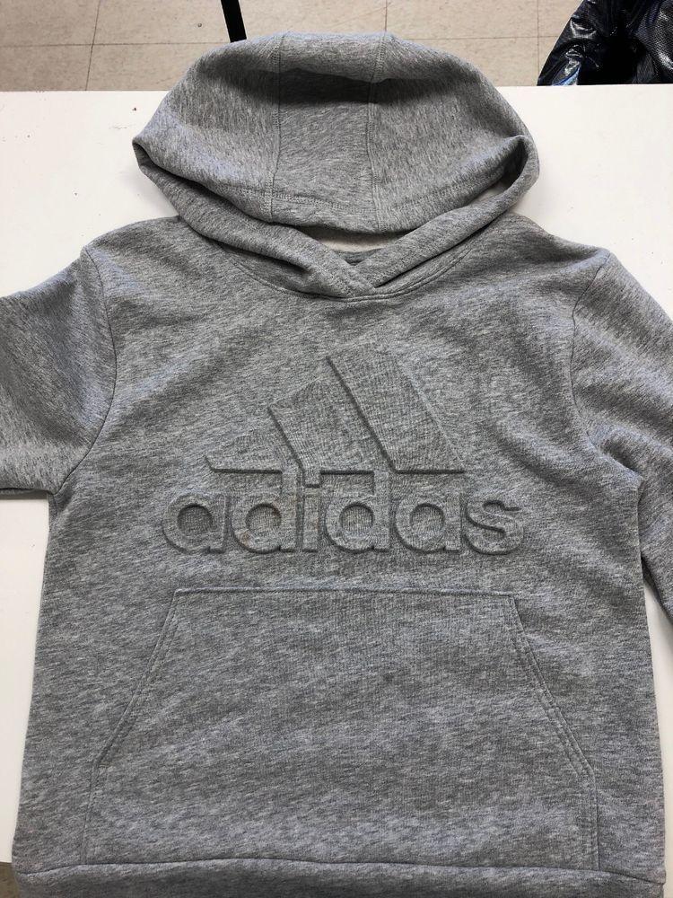 c5b058d13 Adidas Boys' Exclusive Embossed Logo Hoodie size small (8) BOYS #fashion # clothing #shoes #accessories #kidsclothingshoesaccs #boysclothingsizes4up  (ebay ...