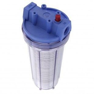 Pentek 158214 Clear Traditional Slim Line Filter Housing Filters Traditional Reverse Osmosis System
