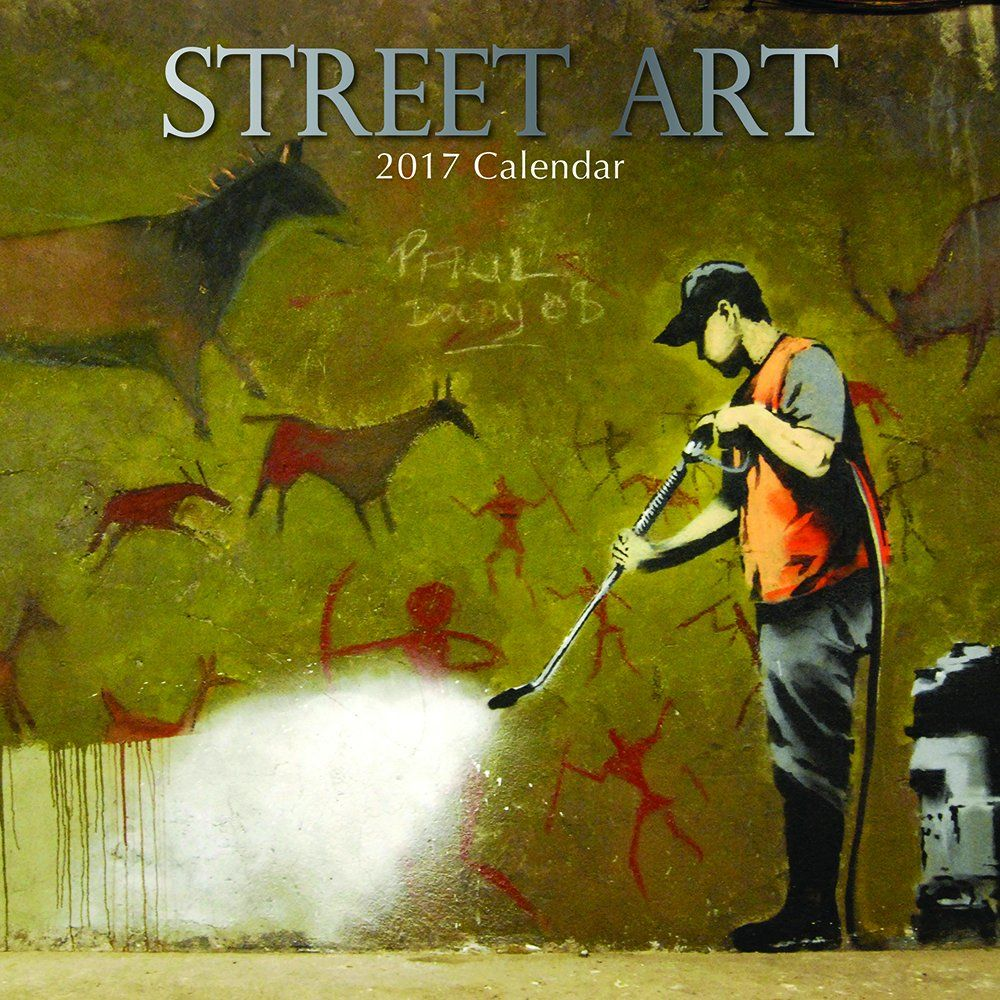 2017 Monthly Wall Calendar - Street Art: The Gifted Stationary ...