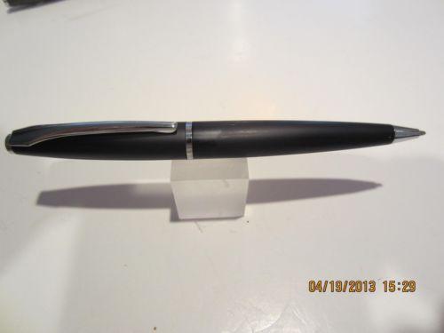 TERZETTI-CARRIE-Metal-Ballpoint-Pen-BLACK-Pouch