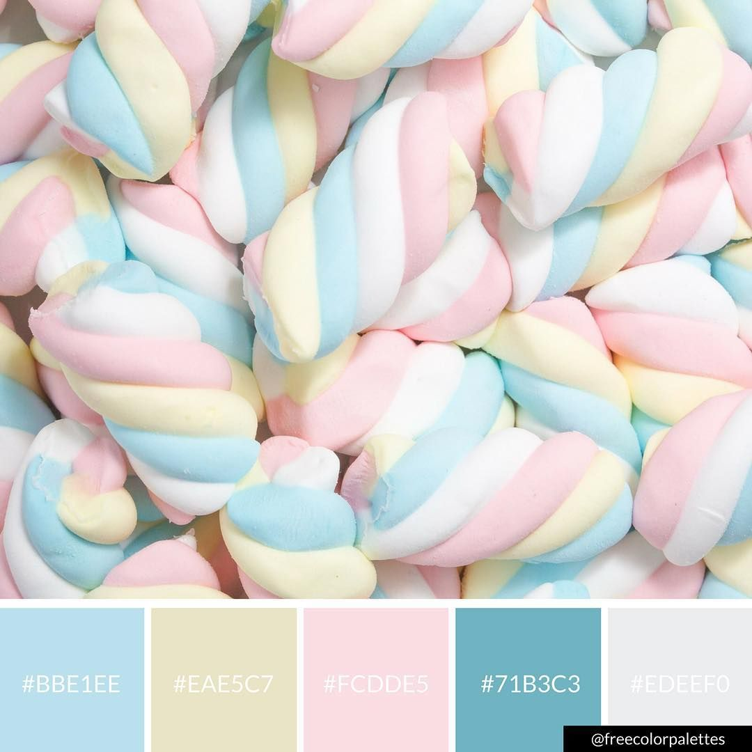 Pastel Palette That Would Make A Great Watercolor Palette For My