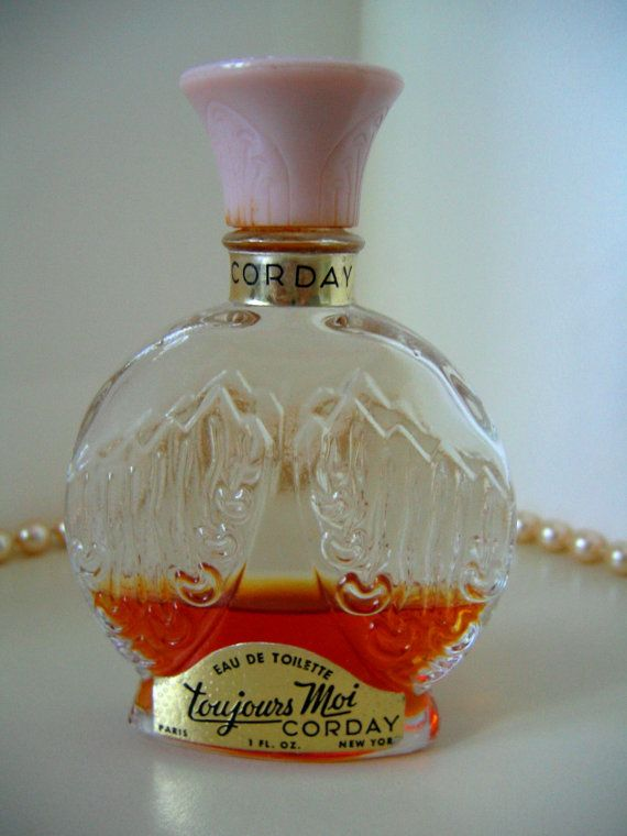 Corday Toujours Moi Perfume Bottle Eau De Toilette 1 Ounce Perfume Bottles Perfume Bottle