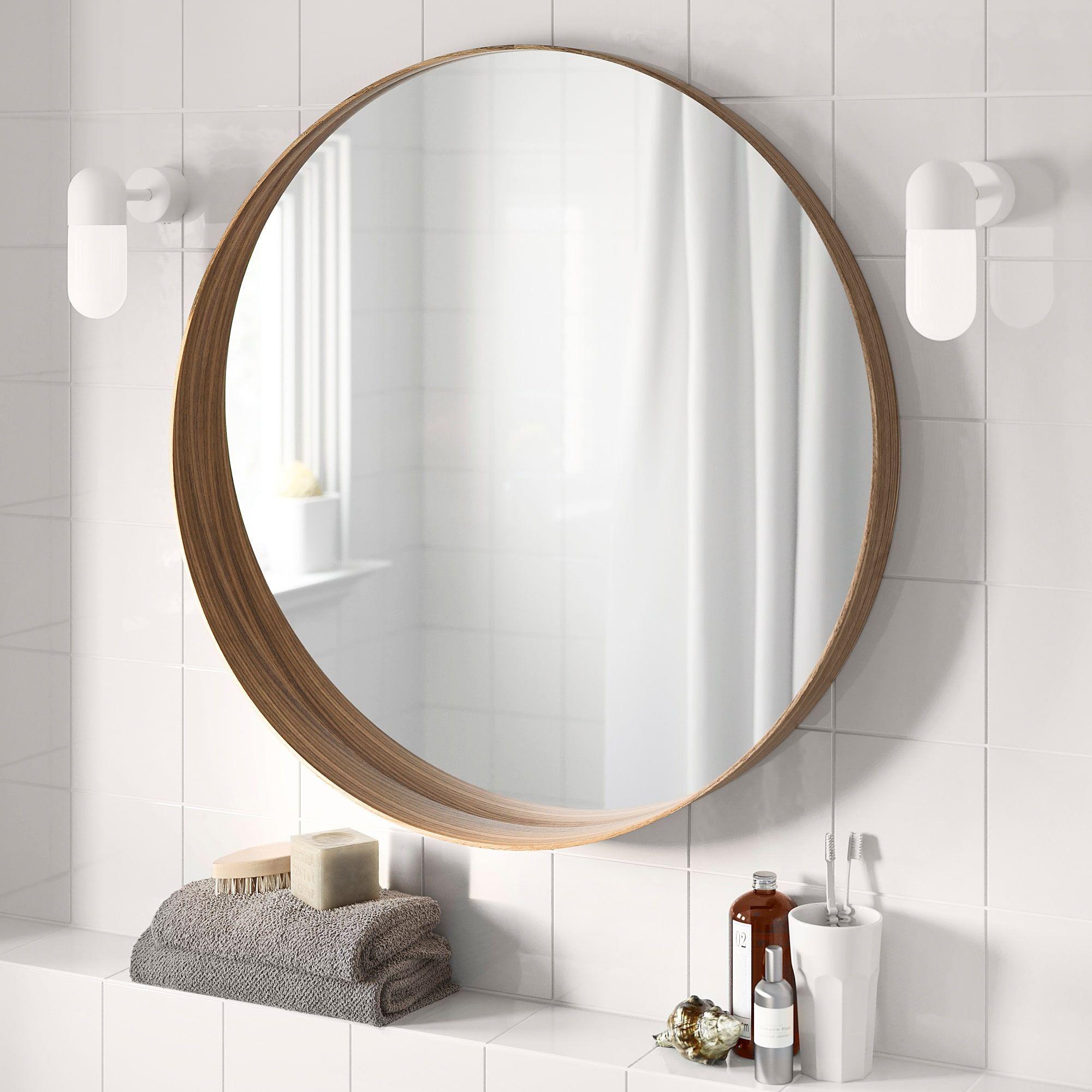 Stockholm Specchio Impiallacciatura Di Noce 60 Cm Ikea It Specchio Da Bagno Specchi Idee Ikea