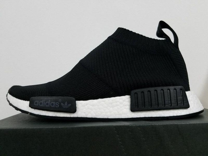 adidas Nmd R1 Prime Knit Black Shock Pink His trainers