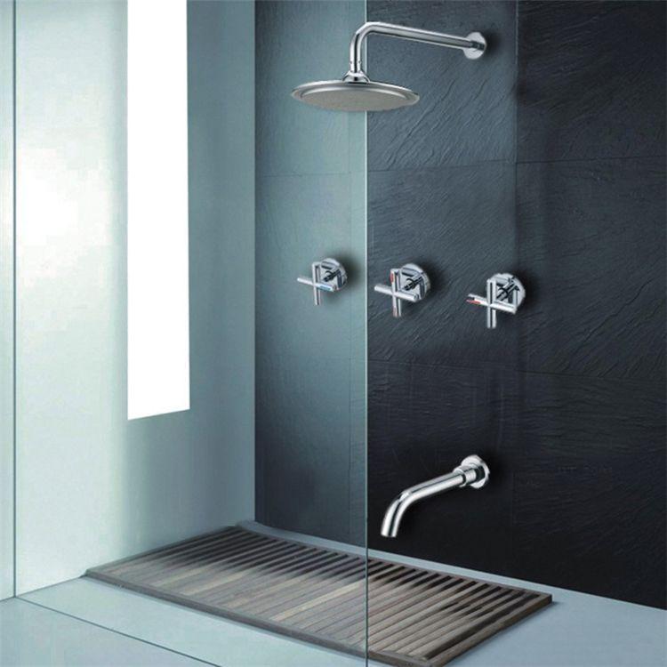 埋込形シャワー水栓 ヘッドシャワー 壁付蛇口 バス水栓 混合栓 水道
