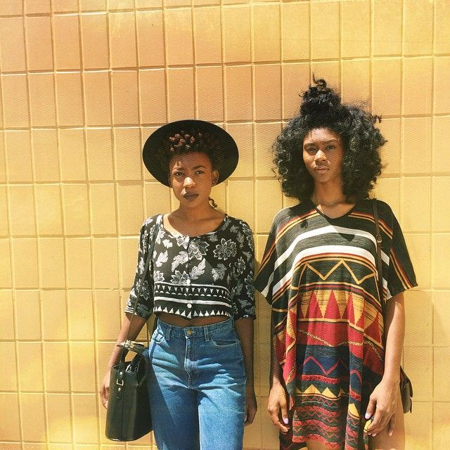 Afro Punk Fashion: Where Glamorous, Naturally Textured And Healthy Hair Is A