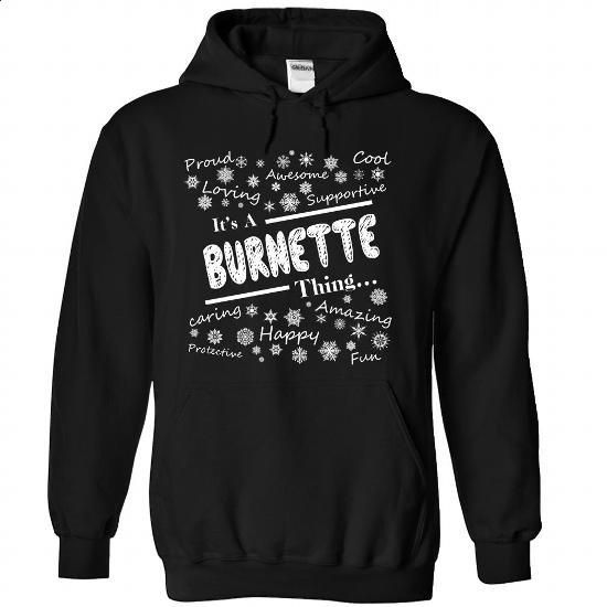 BURNETTE-the-awesome - #grey shirt #hoodie tutorial. GET YOURS => https://www.sunfrog.com/LifeStyle/BURNETTE-the-awesome-Black-71449031-Hoodie.html?68278