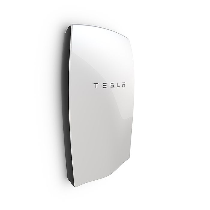 Tesla Energy Powerwall Home Battery 7kwh Of Off Grid Solar Energy Storage For 3000 Off Grid Solar Energy Storage Powerwall