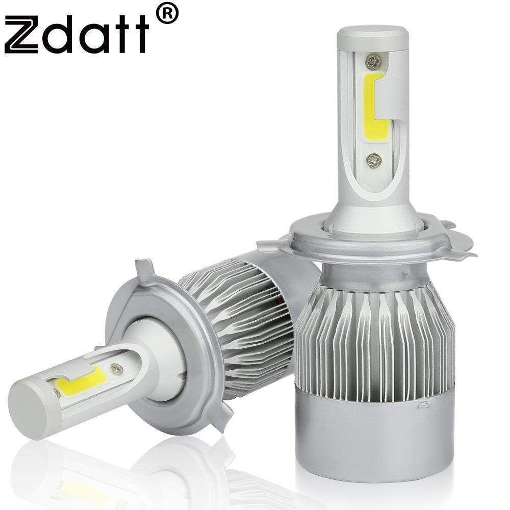 Led Bulb 80W 8000Lm Car Led Zdatt 2Pcs Super Bright Headlight H1 ...